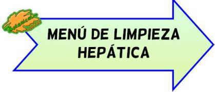 menu de limpieza hepatica