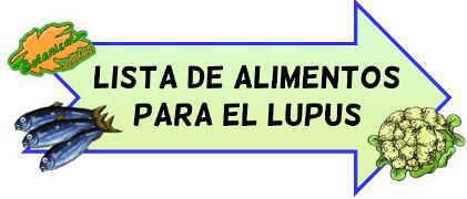 lista alimentos dieta lupus