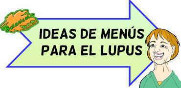 Menús para el lupus