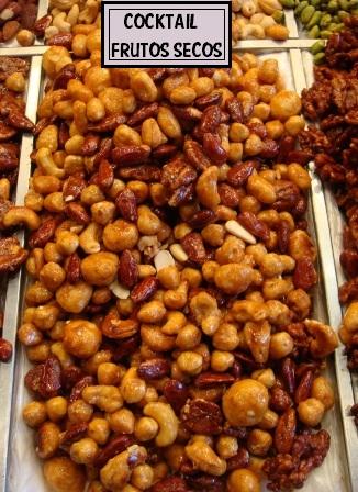 cocktail de frutos secos nueces de macadamia pecanas brasil almendras