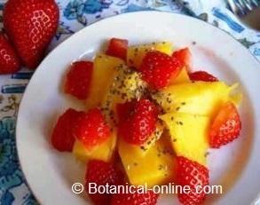 frutas para el deporte