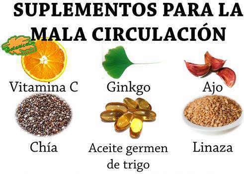 remedios con plantas y suplementos para la mala circulacion o arteriosclerosis