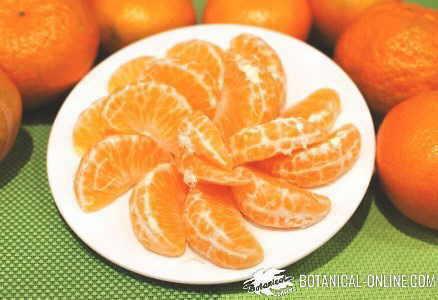 foto de mandarinas en un mercado