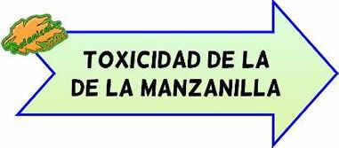 manzanilla toxicidad