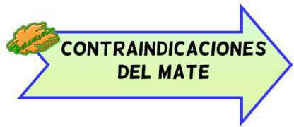 mate contraindicaciones