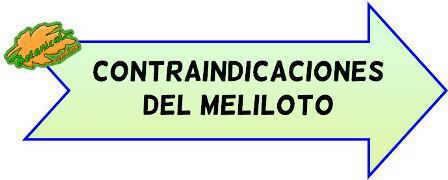 contraindicaciones del meliloto