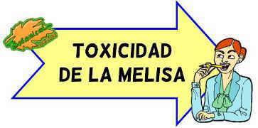 toxicidad de la melisa