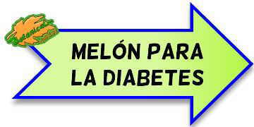 melon azucar diabetes