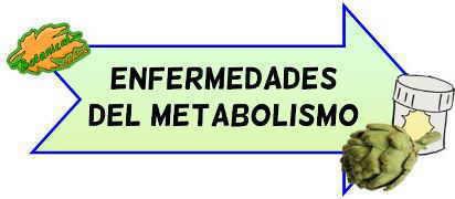 enfermedades metabolismo