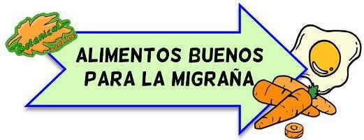 alimentos buenos para la migraña