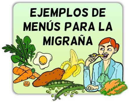 ideas menu ejemplo migraña deficit enzima DAO