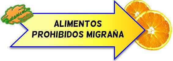 migraña alimentos prohibidos