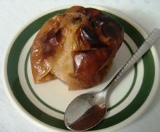 manzana al horno