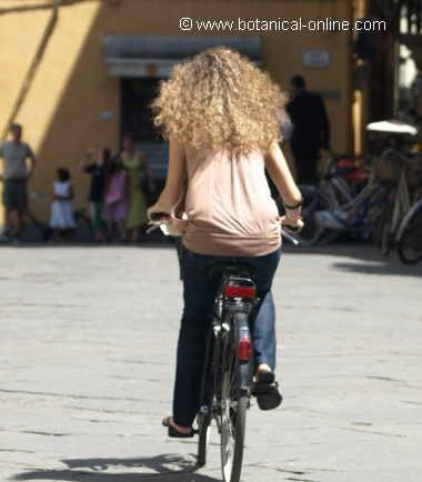 ir en bicicleta mejora el estómago