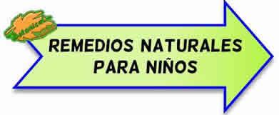 remedios naturales con plantas para niños
