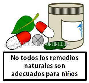 medicina natural suplementos bebes niños