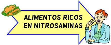 alimentos ricos en nitrosaminas