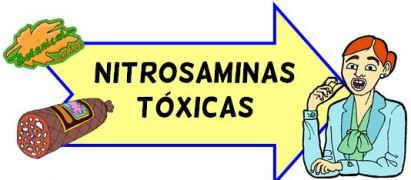 nitrosaminas tóxicas