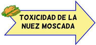 toxicidad de la nuez moscada