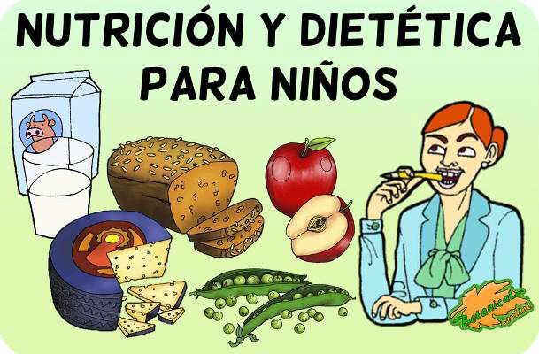 nutricion y dietetica para niños