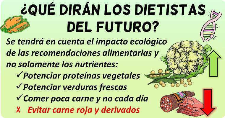dietistas futuro sostenibilidad dieta impacto ecologico alimentos