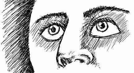 dibujo de ojos