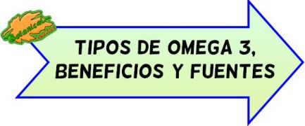 tipos beneficios omega 3