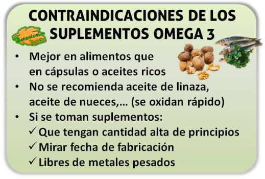 Beneficios de tomar omega 3