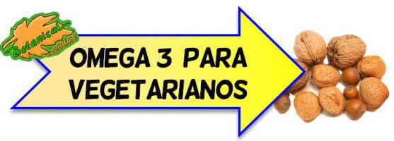 omega 3 para vegetarianos