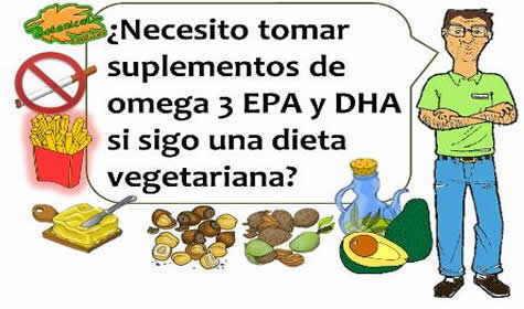 Omega 3 epa dha y pescado azul para vegetarianos
