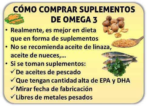 marcas suplementos omega 3 aceites pescado linaza recomendados