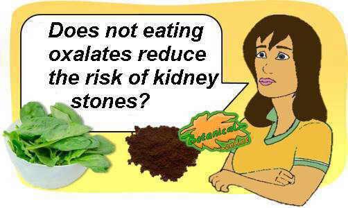 oxalates in kidney stones