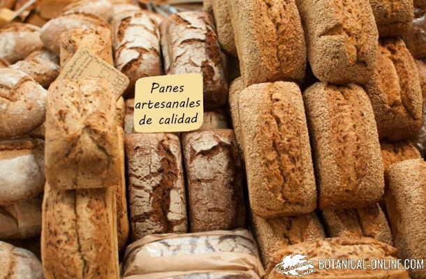 panes para el desayuno