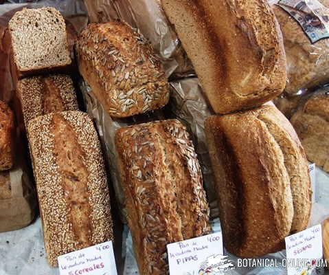 panes integrales con semillas