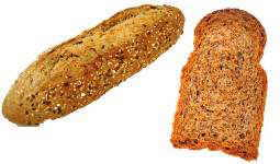 pan integral y tostada integral