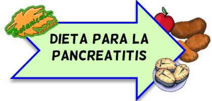 dieta pancreatitis