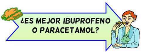 mejor paracetamol o ibuprofeno