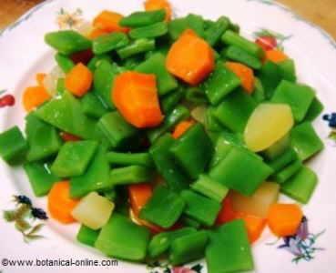 judia verde con patata