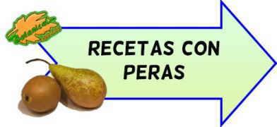 recetas de peras