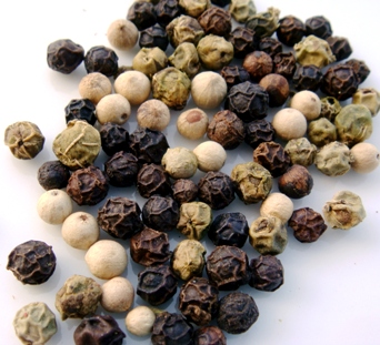 tipos diferentes de pimienta negra