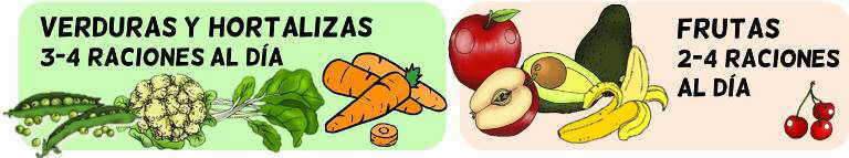 piramide alimenticia para niños grupo verduras y hortalizas