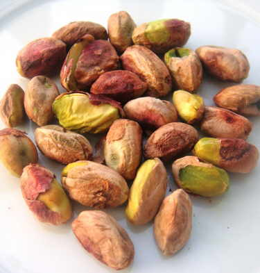 pistachos sin cáscara