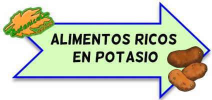 alimentos ricos en potaiso