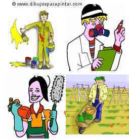 profesiones que están en riesgo de intoxicaciión química