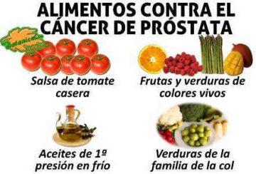 cancer de prostata que comer