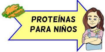 proteinas para niños