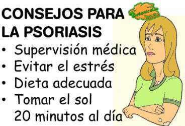 La máscara del kéfir a la psoriasis