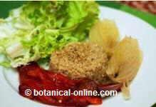 quinoa con verdura