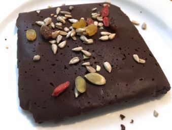 receta chocolatina casera algarroba