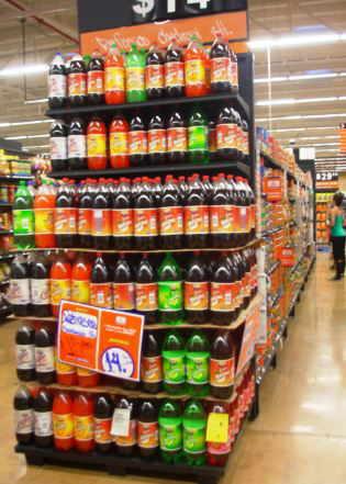 refrescos supermercado colas soda